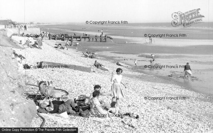 Photo of East Wittering, The Beach c.1955