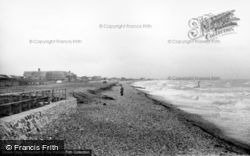 East Wittering, The Beach c.1960