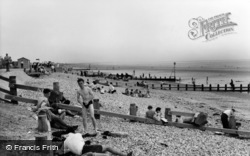 East Wittering, The Beach c.1965