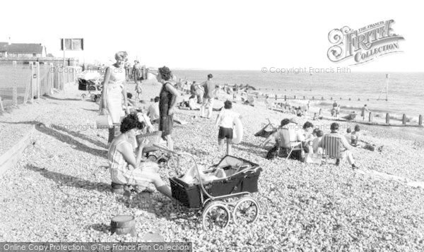 Photo of East Wittering, The Beach c.1965