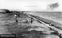 East Wittering, The Cliffs c.1950