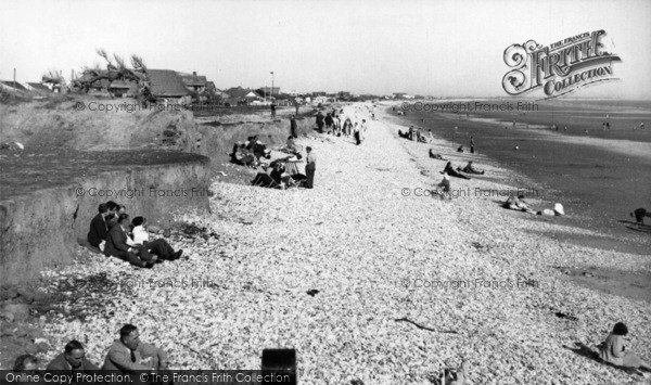 Photo of East Wittering, The Cliffs c.1955