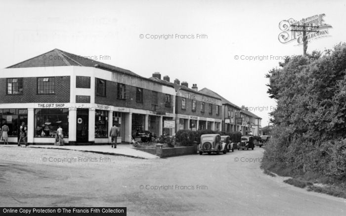 Photo of East Wittering, The Parade c.1950