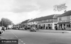 East Wittering, The Parade c.1960