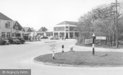 East Wittering, The Roundabout c.1960