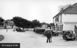 East Wittering, The Royal Oak Corner c.1950