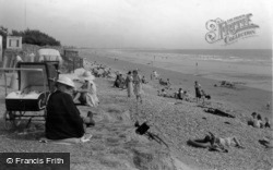 East Wittering, The Sands c.1950