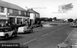 East Wittering, The Shops c.1965
