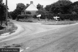 East Wittering, The Triangle c.1950