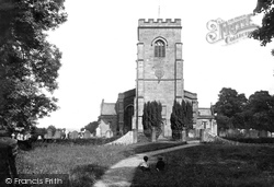 East Witton, Church Of St John The Evangelist 1918