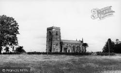 East Witton, Church Of St John The Evangelist c.1960