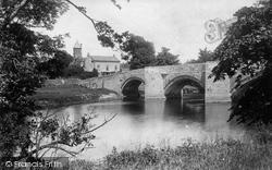 East Witton, Ulshaw Bridge And Rc Chapel 1893
