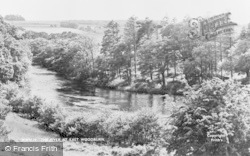 East Woodburn, The River c.1955