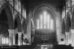 Eastbourne, All Saints Church Interior 1890