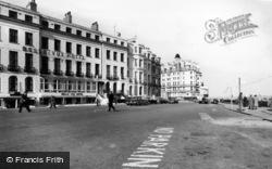 Eastbourne, Belle Vue Hotel c.1965