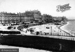 Eastbourne, From The Wish Tower c.1890