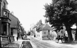 Eastbourne, High Street, Old Town 1890