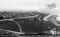 Eastbourne, Holywell From Above 1894