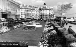 Promenade Gardens c.1965, Eastbourne