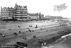 Eastbourne, Queen's Hotel From The Pier 1910