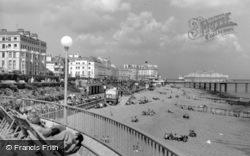 The Beach c.1960, Eastbourne