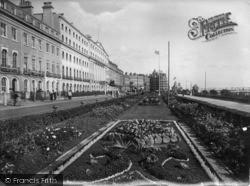 Eastbourne, The Carpet Gardens 1921