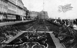 Eastbourne, The Gardens 1910