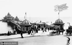 Eastbourne, The Pier 1901