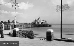 Eastbourne, The Pier c.1960