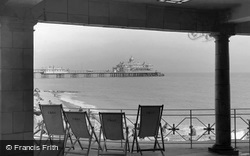 The Pier From The Bandstand c.1955, Eastbourne