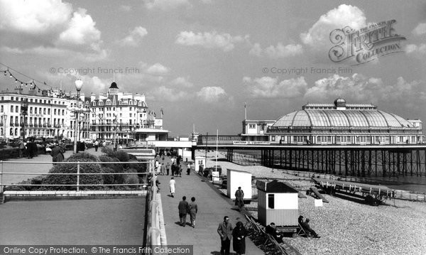 Eastbourne The Promenade C 1960 Francis Frith