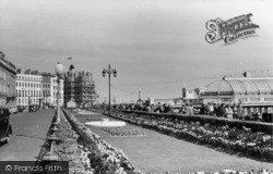 Eastbourne, The Promenade Gardens c.1955