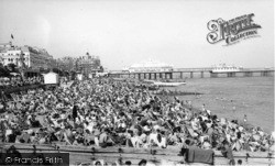 Eastbourne, The Sands c.1960