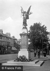 Eastbourne, the War Memorial 1921