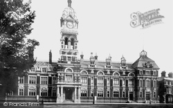 Eastbourne, Town Hall 1890