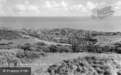 View From The Golf Course c.1960, Eastbourne