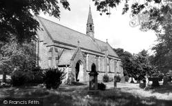 Eastgate-In-Weardale, All Saints Church c.1955, Eastgate