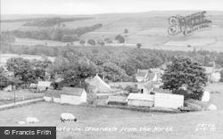 Eastgate-In-Weardale, General View c.1939, Eastgate