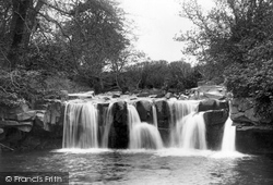 Eastgate-In-Weardale, The Waterfall c.1939, Eastgate
