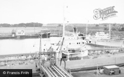 Eastham, Queen Elizabeth II Dock c.1955
