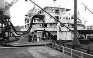 Eastham, Queen Elizabeth II Dock c1955