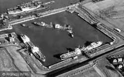 Eastham, Queen Elizabeth II Dock c.1965