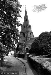 Eastham, The Church c.1965