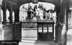 Eastham, View Through The Lychgate c.1955