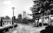 Easthampstead, the Village and Church c1960