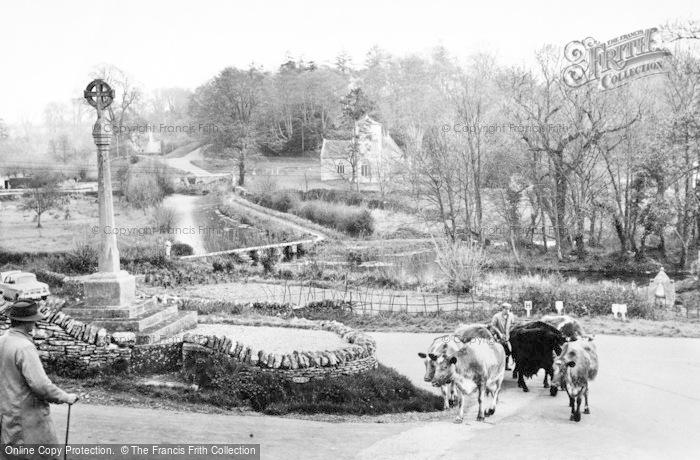 Eastleach Turville, Village And Keble Bridge c.1960