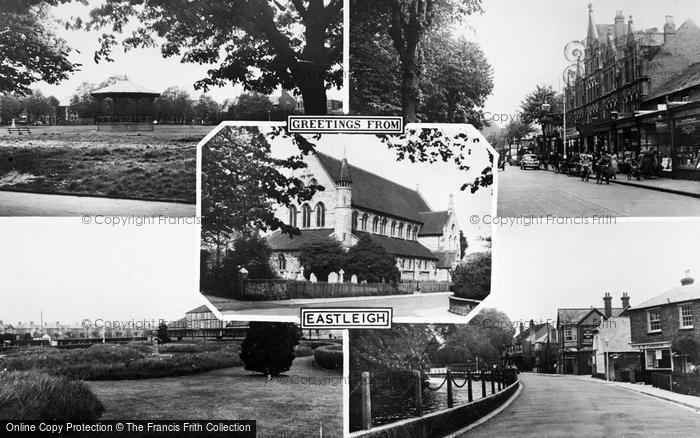 Photo of Eastleigh, Composite c.1960