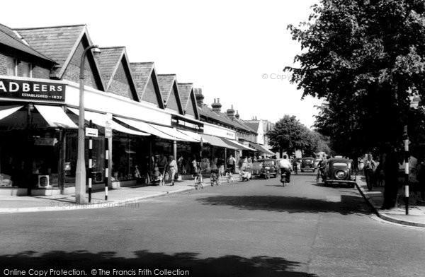 Photo of Eastleigh, High Street c.1955