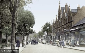 Eastleigh, Leigh Road 1951