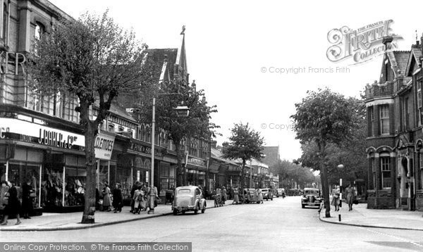 Photo of Eastleigh, Leigh Road c.1955